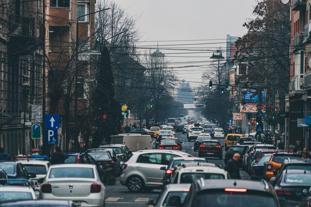 Замовити таксі в Києві в час пік