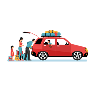 100% подача таксі з автокріслом
